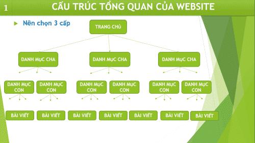 Cấu trúc thiết kế website chuẩn seo