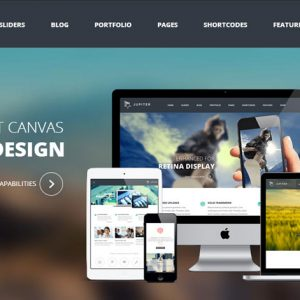 theme-jupiter wordpress responsive
