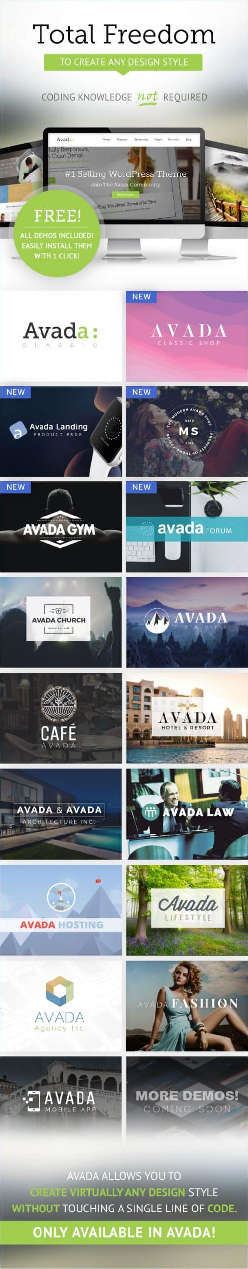 Theme wordpress Avada