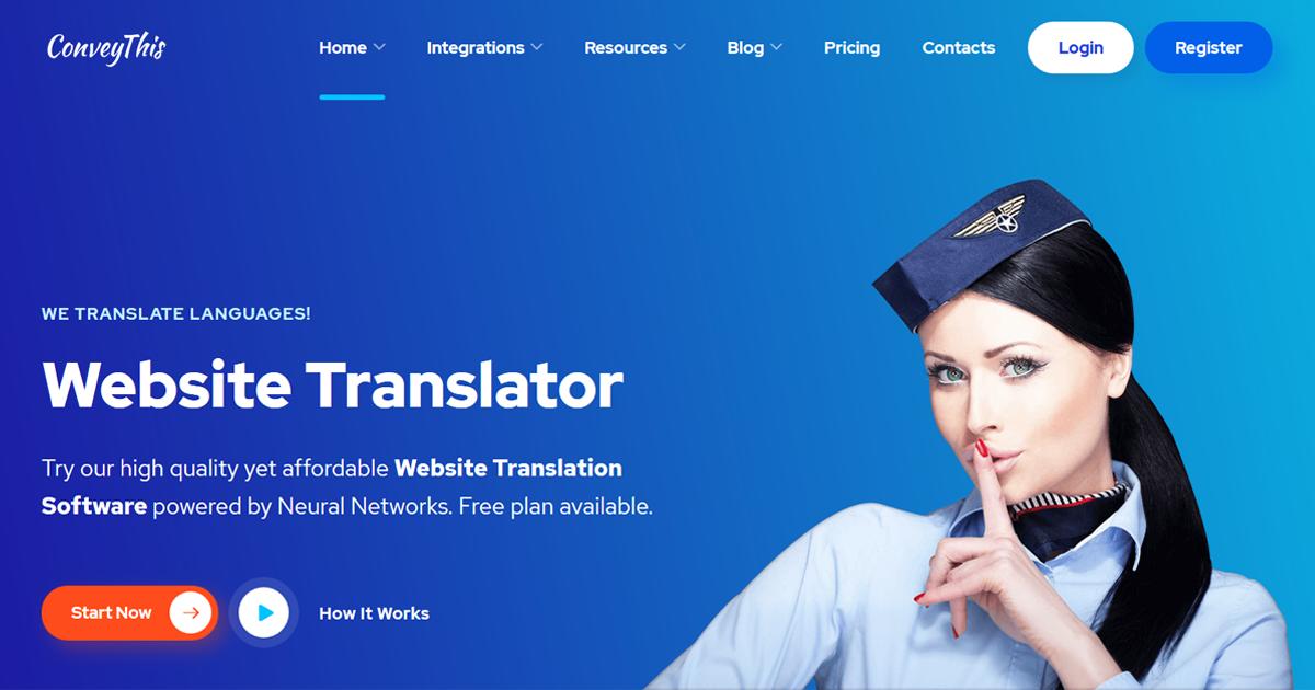 Hướng dẫn tạo website đa ngôn ngữ chỉ 5 phút với Conveythis