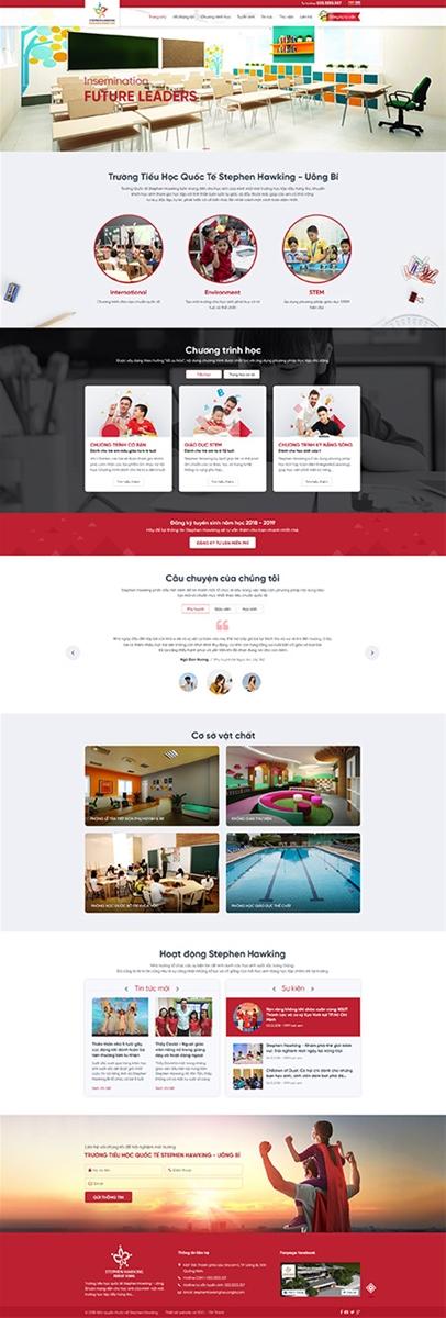 5 lý do nên thiết kế website cho trường học