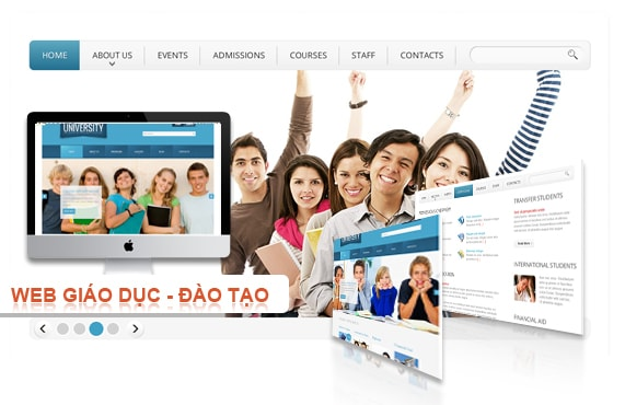 Đặc điểm khác biệt khi thiết kế website cho trường học