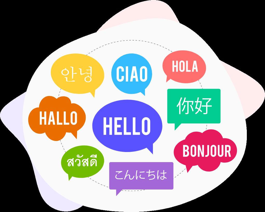 Có thể dịch hoàn toàn nhiều ngôn ngữ