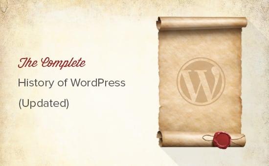 Lịch sử hình thành Wordpress