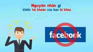 Nguyên nhân dẫn đến Facebook bị khóa