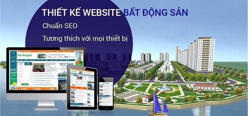 Thiết kế website bất động sản tại Tuy Hòa